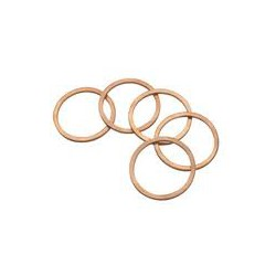 Roodkoperen ring DIN7603A 1,5 6x10mm.