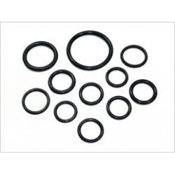 Rubber O-ring 2,0mm 25mm.