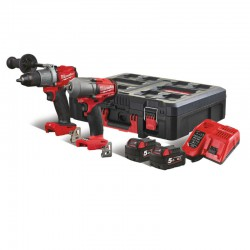 Milwaukee M18 Powerpack M18-FPP2E2-502P
